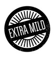 extra mild rubber stamp vector image
