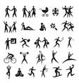 icon set human figures