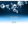Elegant background with Christmas garland vector image vector image