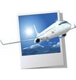 passenger Boeing 737 vector image