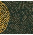 skeleton leaves background vector image