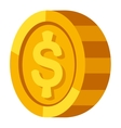 Money coins vector image