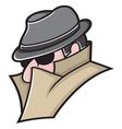 Spy icon3 vector image