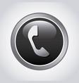 phone button design vector image