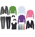 office clothes vector image vector image