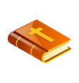 icon bible vector image