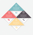 Set of infographics elements in modern flat vector image
