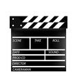 Cinema flap vector image