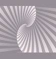 abstract retro spiral background wallpaper vector image