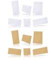 envelopes set vector image