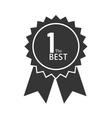 award ribbon 1 the best icon graphic vector image