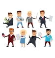 Set of Profession Specialists Characters vector image vector image