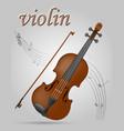 vuolin musical instruments stock vector image