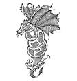 animal dragon vector image