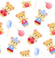 cartoon bears vector image