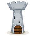 donjon tower vector image