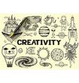 Imagination sketch vector image