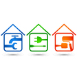 home repair vector image