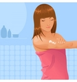 body lotion vector image vector image
