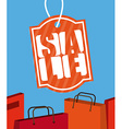 shopping tags vector image vector image