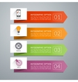 arrow design elements for infographics vector image
