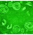 Vintage Floral Roses Pattern vector image vector image