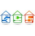 Home repair vector image