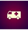ambulance icon Flat vector image
