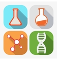 Concept of chemistry - vector image