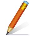 Short pencil vector image