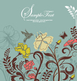 ORNATE INVITATION CARD vector image vector image
