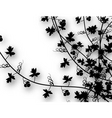 climbing vines vector image