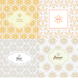 Line graphic design template vector image