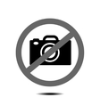 no camera vector image