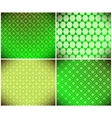 green abstract wallpaper vector image vector image