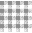 Seamless texture of gray plaid vector image