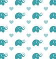 Elephant wallpaper vector image vector image