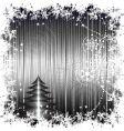 Christmas retro vector image