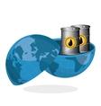 Petroleum design economy and industry design vector image