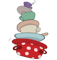 Kitchenware cartoon vector image