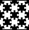 jigsaw puzzle seamless pattern vector image