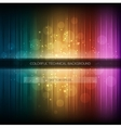 Abstract equalizer background Colorful rainbow vector image