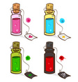 potions vector image vector image