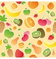fruit seamless vector image vector image