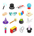 Magic isometric 3d icon vector image