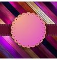 Decorative vintage card with copyspace EPS8 vector image