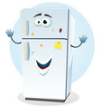 fridge character vector image