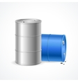 Oil Barrel Drum vector image