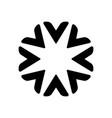 star circle abstract logo design logo vector image