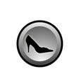 shoe logo vector image